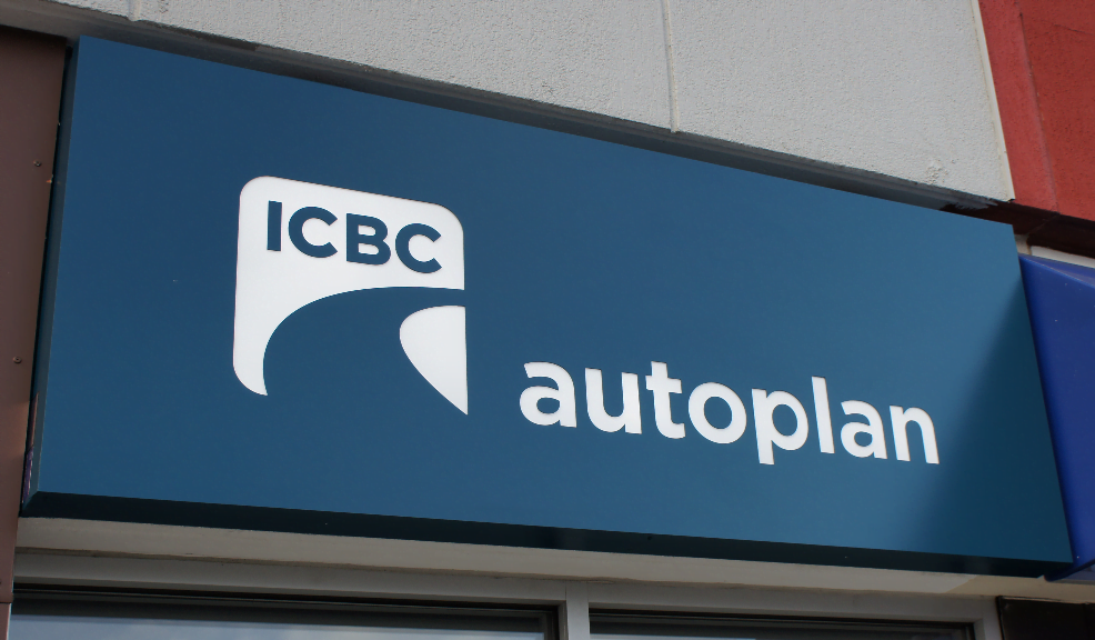 ICBC Autoplan Sign Image