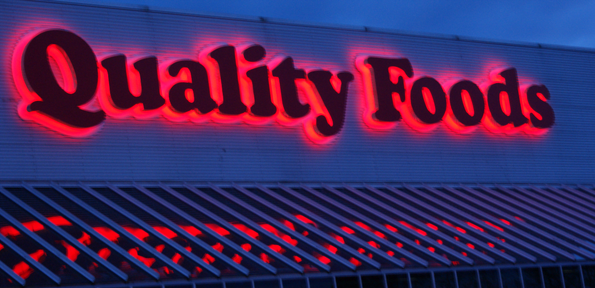 Quality Food Sign Image