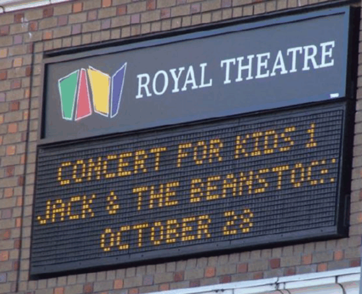 Royal Theatre Sign Image