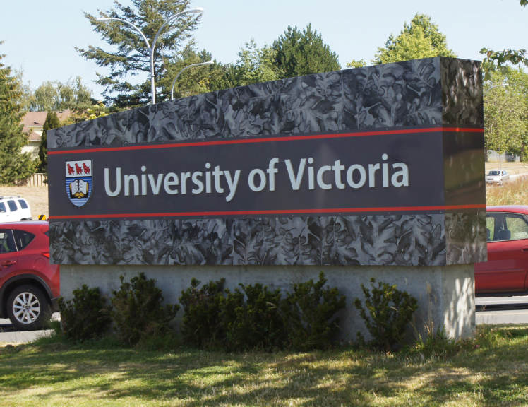 University Of Victoria Sign Image