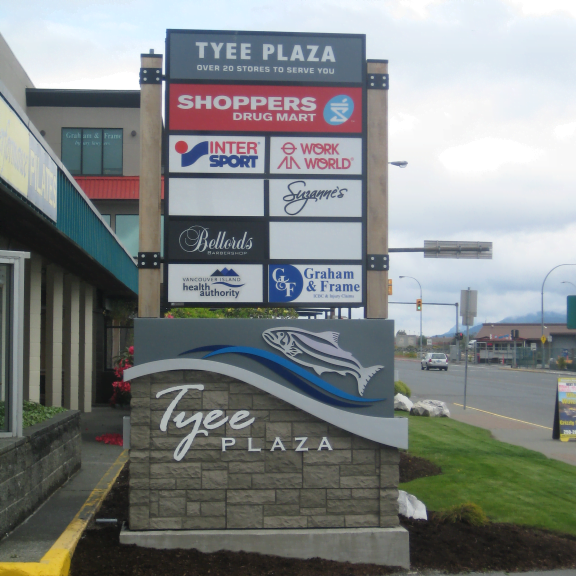 Tyee Plaza Sign Image